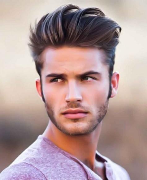 những kiểu tóc đẹp cho nam tóc pompadour