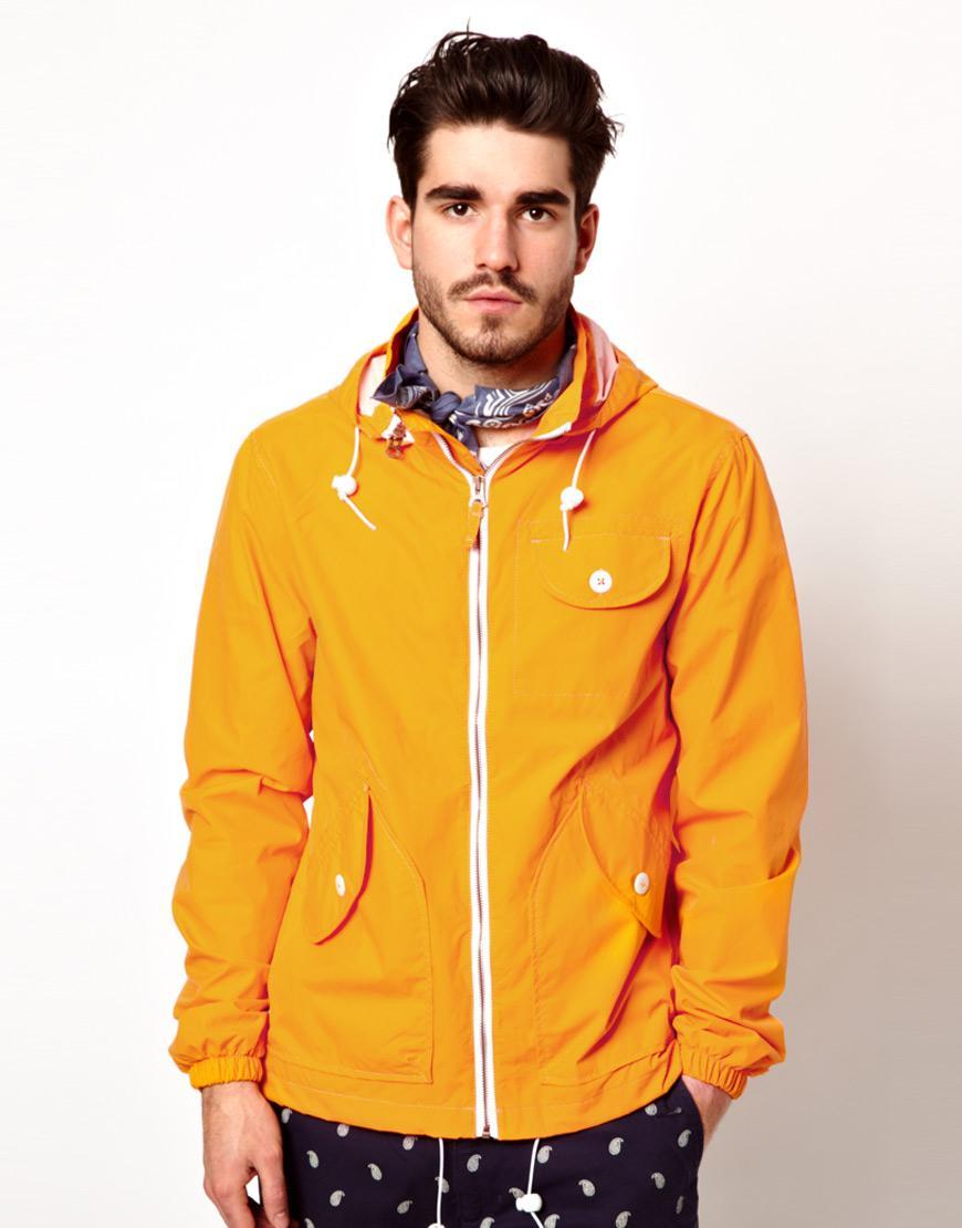 cách phối quần áo nam áo đi mưa Asos
