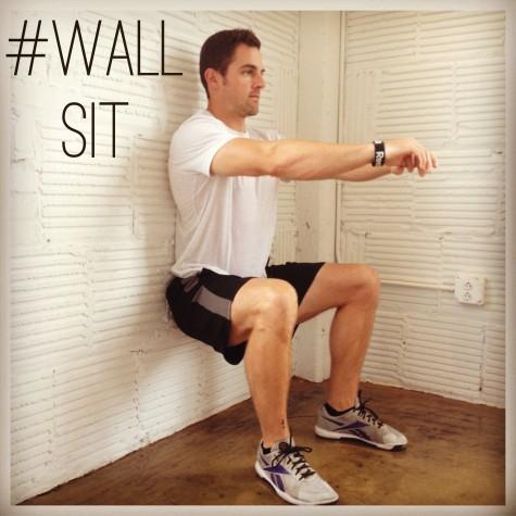 cách tập thể hình hiệu quả tại nhà wall sit