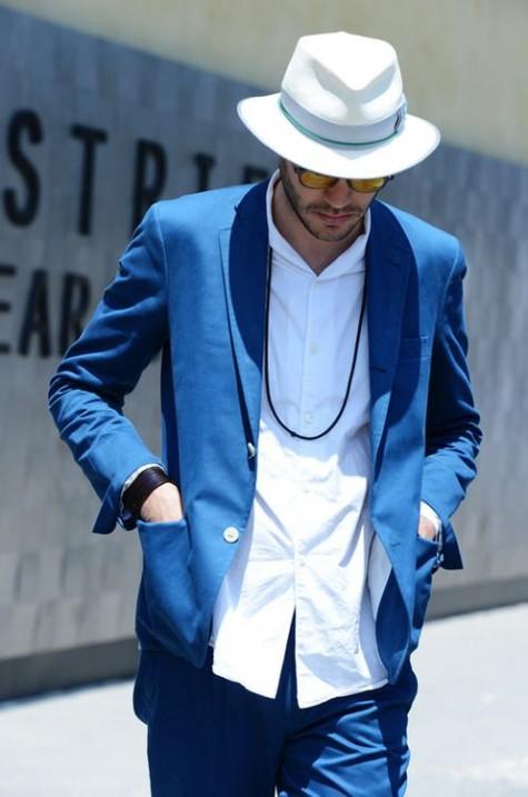 cách phối đồ nam với áo blazer cho mùa thu