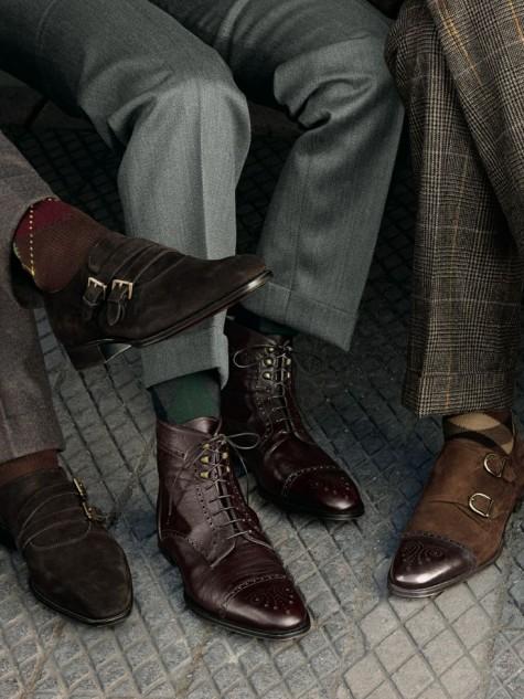 cách phối đồ nam với giày tây cổ điển