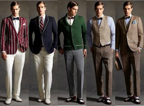mặc áo vest nam thời trang như Gatsby