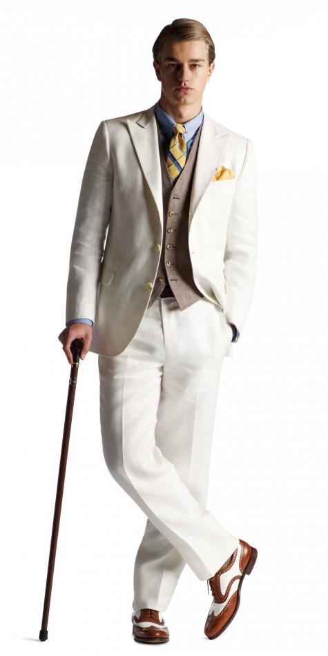 mặc áo vest nam thời trang với cà vạt