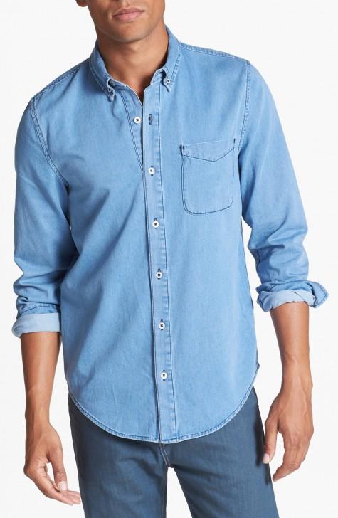 cách mix đồ nam với áo và quần jeans