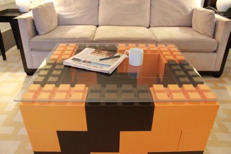 trò chơi ghép hình cho người lớn Everblock làm bàn phòng khách