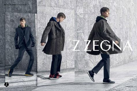 Chiến dịch quảng cáo thời trang Thu Đông 2015 của Z Zegna