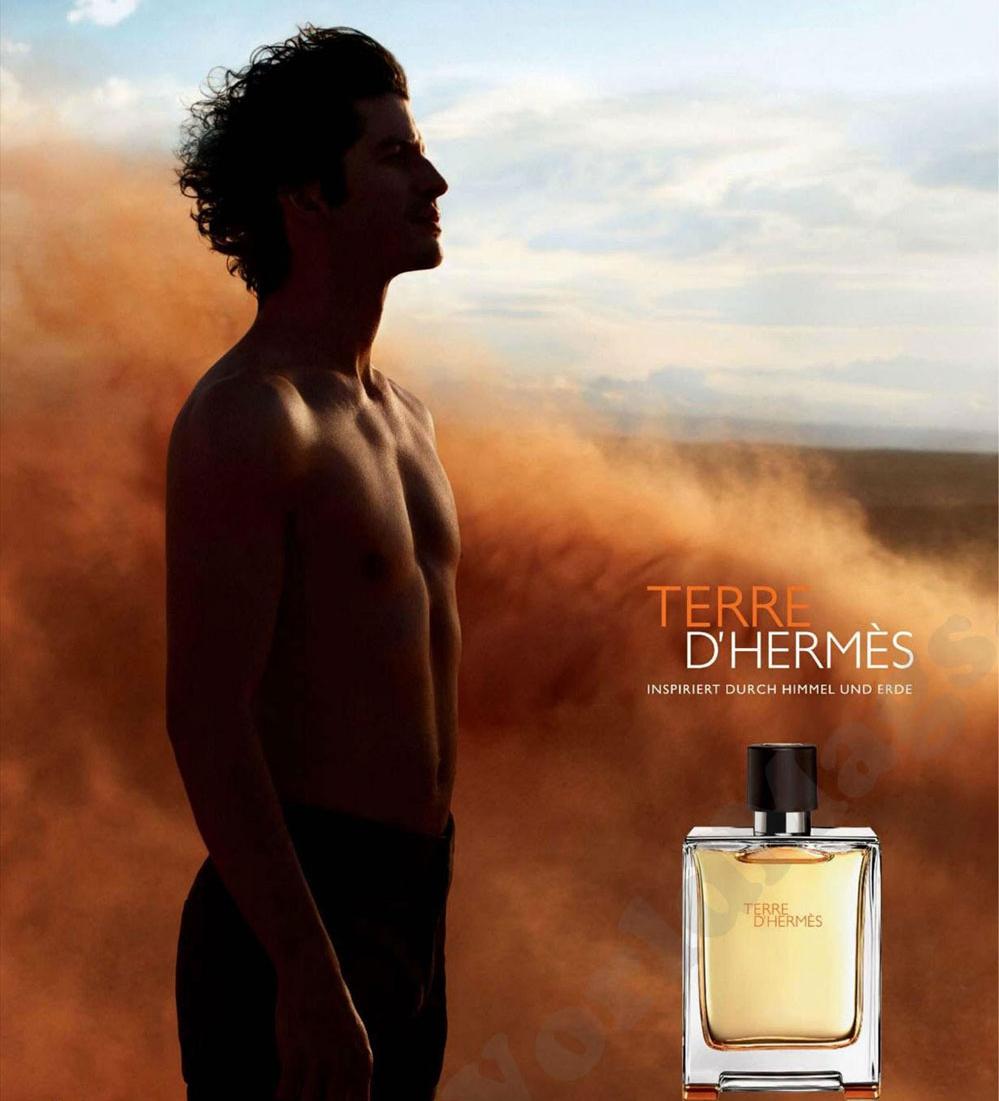 nước hoa nam giới Terre D'Hermes ads pic - elle việt nam