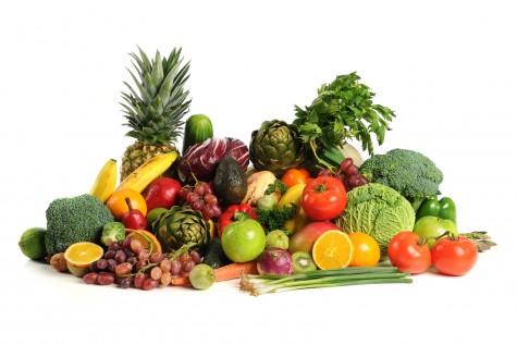 chế độ ăn kiêng giảm cân hợp lý với trái cây và rau xanh