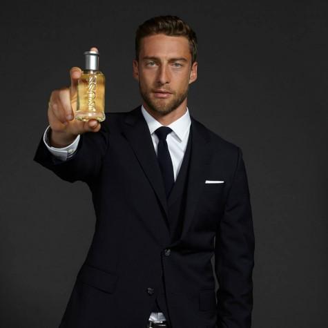 Claudio Marchisio từng là gương mặt quảng cáo của BOSS Bottled