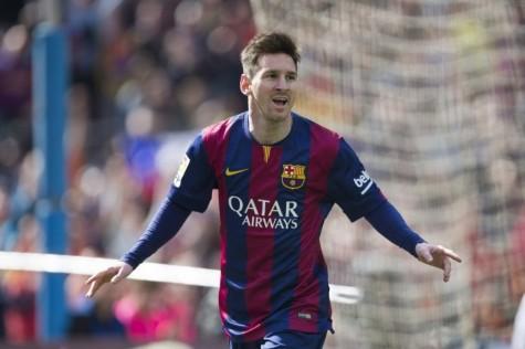 Messi trong màu áo Barcelona đã gắn bó với anh cả sự nghiệp