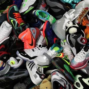 Thú chơi sưu tầm giày thể thao