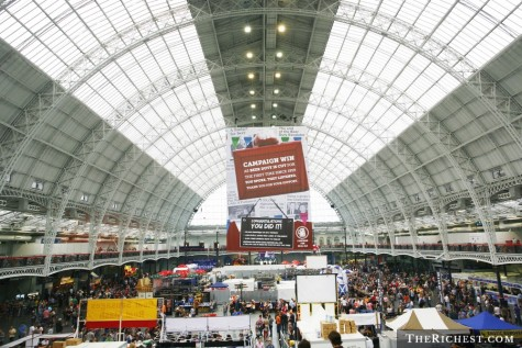 le hoi bia Great British Beer Festival