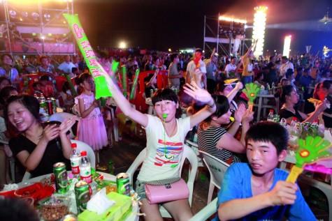 le hoi bia Qingdao International Beer Festival