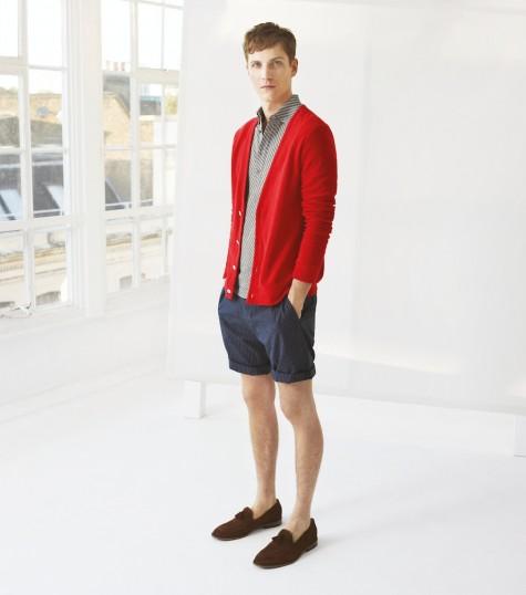Một chiếc cardigan dễ dàng cởi ra nếu quá nóng trong thời tiết thu