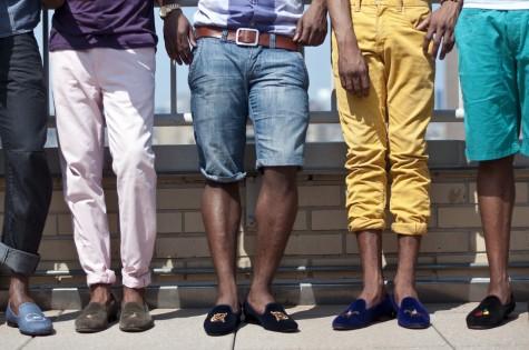 Giày lười là phụ kiện của mùa thu chứ không chỉ riêng của mùa hè