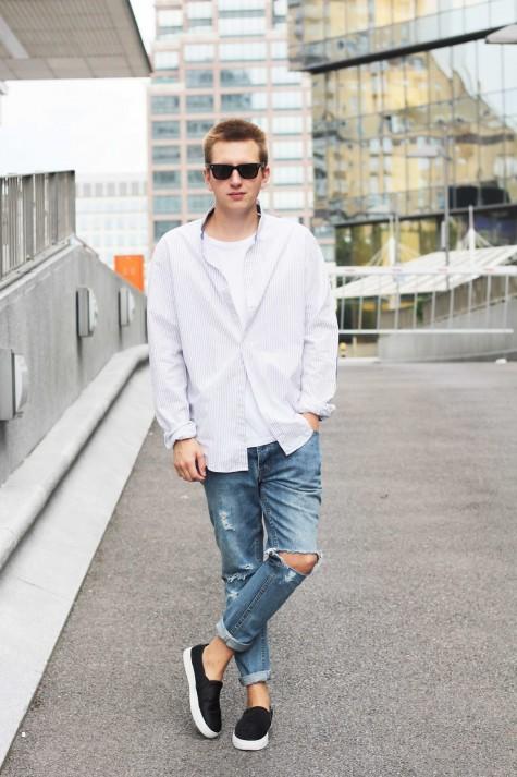 Giày lười cho phong cách thoải mái khi dạo phố
