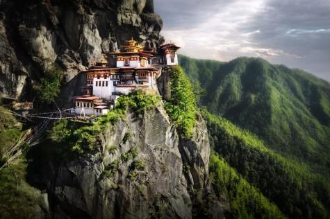 dia diem du lich Bhutan