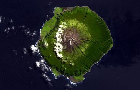 dia diem du lich dao Tristan da Cunha