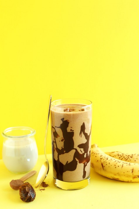 Chuối và sữa chocolate đều là những thực phẩm tốt cho sức khỏe