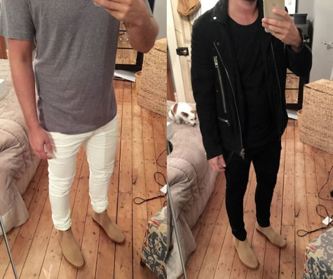 2 bộ trang phục được chia sẻ bởi ICA trên webiste Fashion Beans