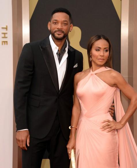 Will Smith và vợ tại Oscars 2014 vừa qua