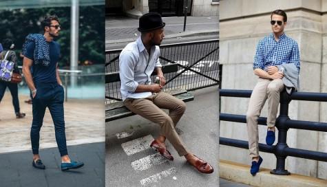 Giày lười (loafer) là một phần quen thuộc trong những set đồ mùa Hè-Thu