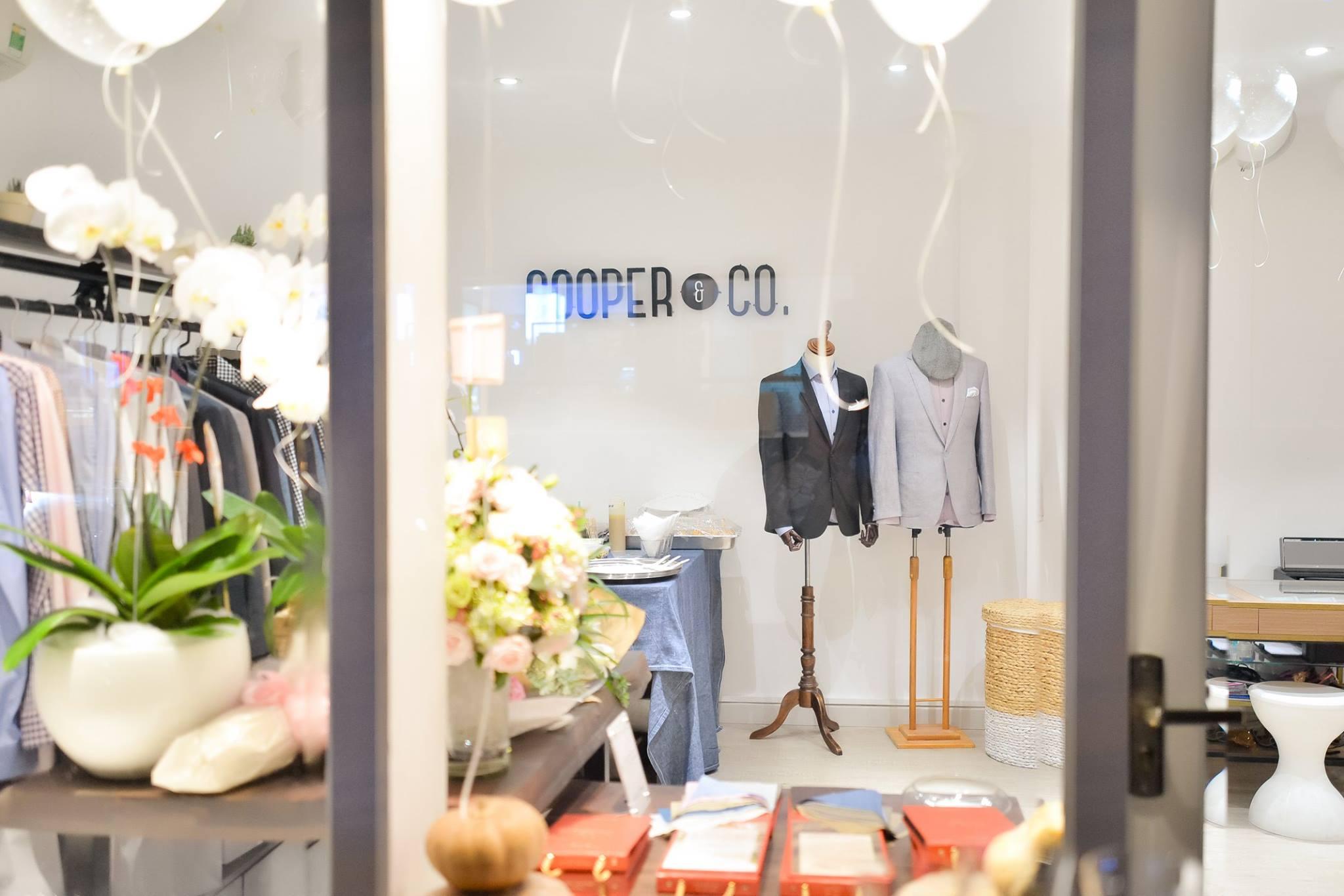 Cooper & Co. là một boutique chuyên về suit may đo (bespoke) dành cho nam giới