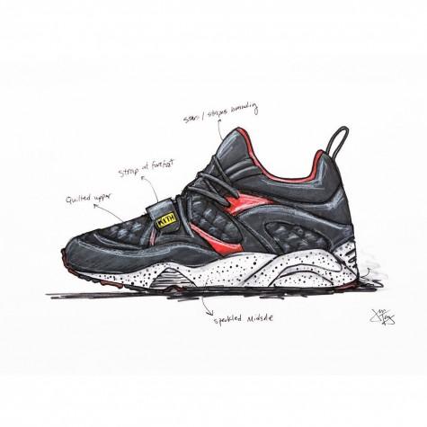 tài khoản instagram @ronniefieg sưu tầm giày thể thao