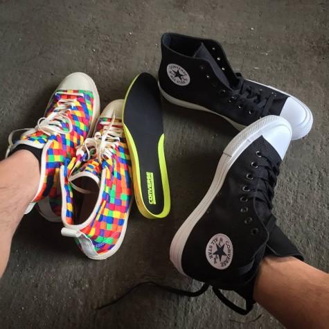 Yu chia sẻ về việc thử giày Chuck II mới nhất của Converse