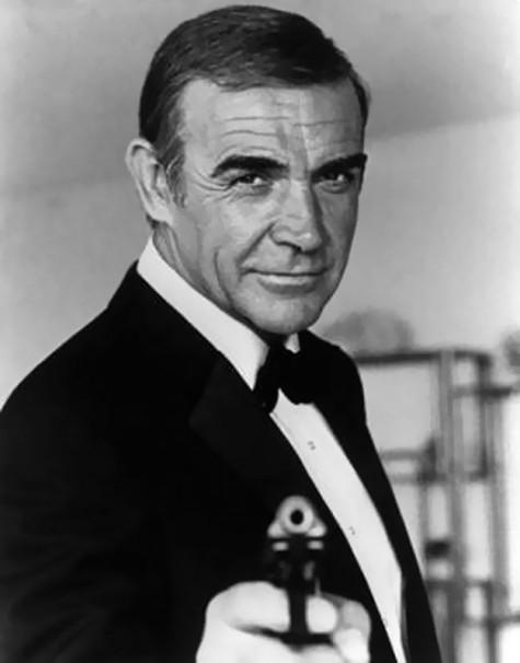 Sean Connery thủ vai James trong 4 phần đầu tiên của series phim về chàng thám tử lừng danh