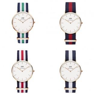 Đồng hồ DW với dây NATO nhiều màu sắc cho bạn lựa chọn