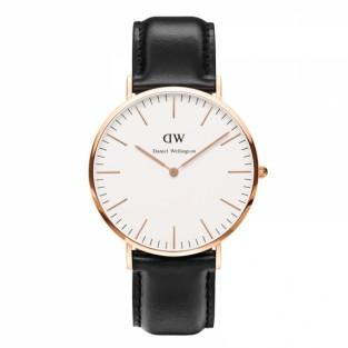"""Đồng hồ Daniel Wellington Classic Sheffield 0107DW một mảnh ghép quan trọng trong sự thành công của bộ sưu tập """"Classic"""" của Daniel Wellington, nhờ sự kết họp hoàn mỹ của mặt đồng hồ tối giản tinh tế và dây đeo da bê Italy cao cấp."""