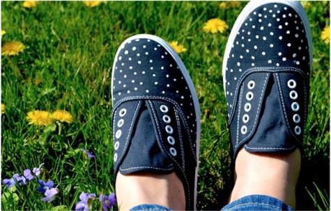 Giày vải nam in họa tiết hứa hẹn sẽ lên ngôi năm 2015