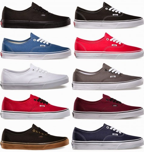 Giày vải nam nhiều màu sắc sẽ được ưa chuộng