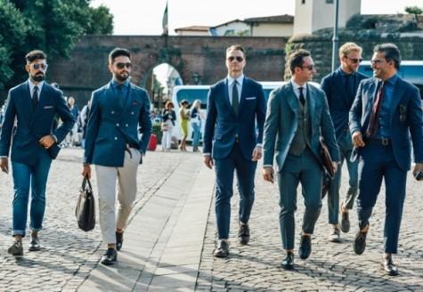 Hình ảnh các chàng trai Ý trong trang phục vest làm si mê bao cô gái