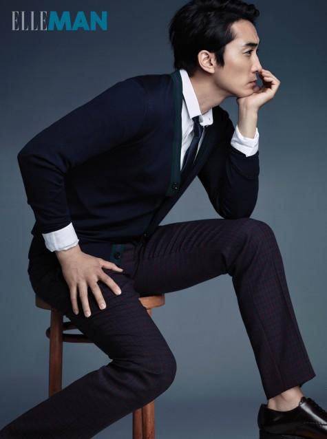 Chiếc ghế cuộc đời của Song Seung Heon