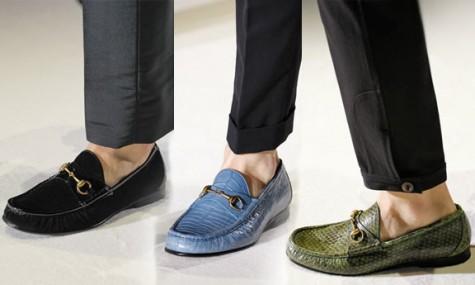 Giày lười của Gucci cũng tạo nên một sức hút