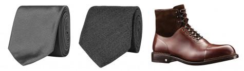 Cà vạt Dolce & Gabbana, cà vạt Hugo Boss, Giày Louis Vuitton