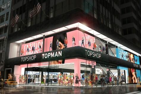 Top shop-Top man là thương hiệu nổi tiếng của Anh