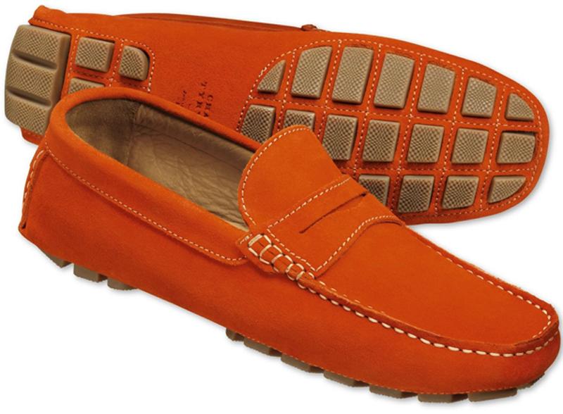 Các phân biệt giữa giày Driving và Boat là nhìn vào phần đế giày.