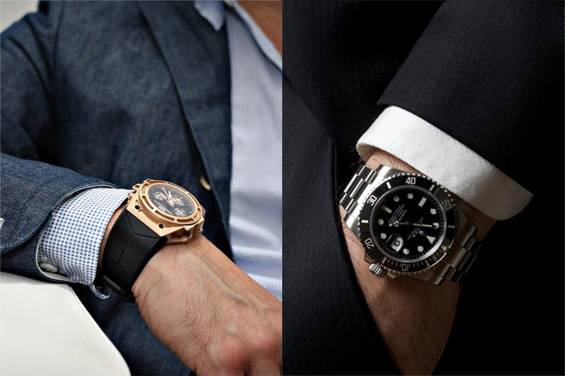 5 phụ kiện cơ bản dành cho đồ suit - suit watch 2 - elle man