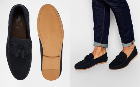 Một sản phẩm loafer của thương hiệu ASOS.