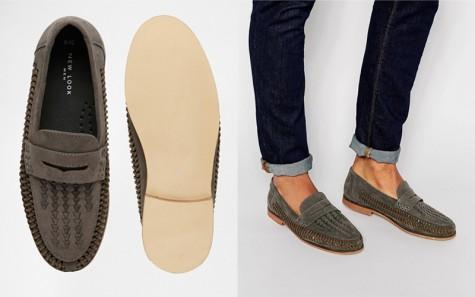 Một sản phẩm loafer của thương hiệu New Look.