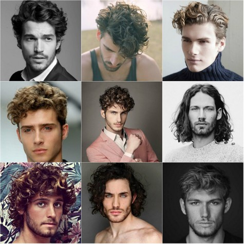 Các kiểu tóc nam thanh lịch - tóc curls- ELLE Man