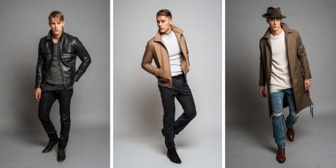 Kiểu kết hợp jeans rách và áo choàng dài lấy cảm hứng từng những chàng cowboy