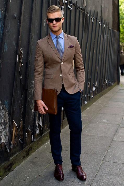 Đồ công sở hợp với giày Oxford hoặc loafer
