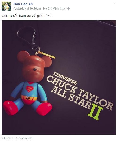 Chuck Taylor 2 còn tấn công các trang mạng xã hội