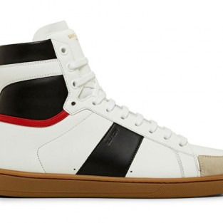 20 kiểu giày sneaker nam hot năm 2015 - Kiểu giày superyacht của Saint Laurent - elleman