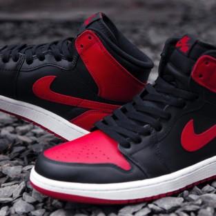 20 kiểu giày sneaker nam hot năm 2015 - Sản phẩm Retro Sport Nike Air Jordan 1 - elleman.
