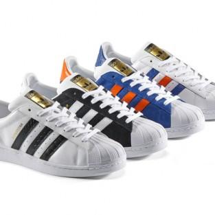 20 kiểu giày sneaker nam hot năm 2015 - Sản phẩm Retro Sport Adidas Shell Toe - elleman.